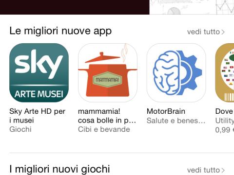 homepage app store