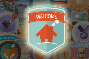 badge welcome