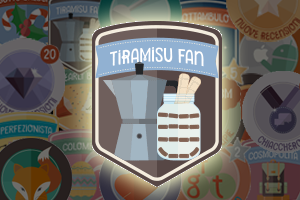 badge tiramisù fan