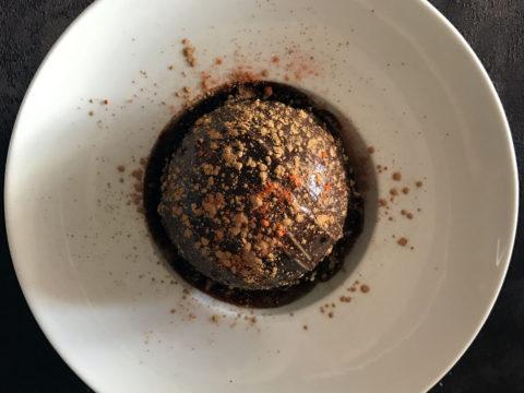 semifreddo piccante al cioccolato